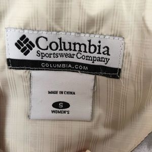 Columbia Jackets & Coats - Columbia Down Feather Cream Winter Puffer Jacket